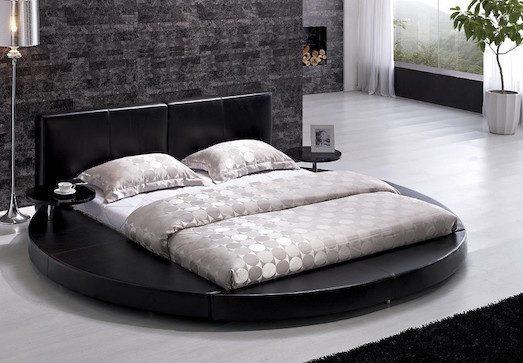 Плюсы и минусы круглой кровати