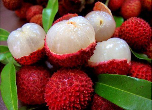 Вкусный и необычный фрукт рамбутан