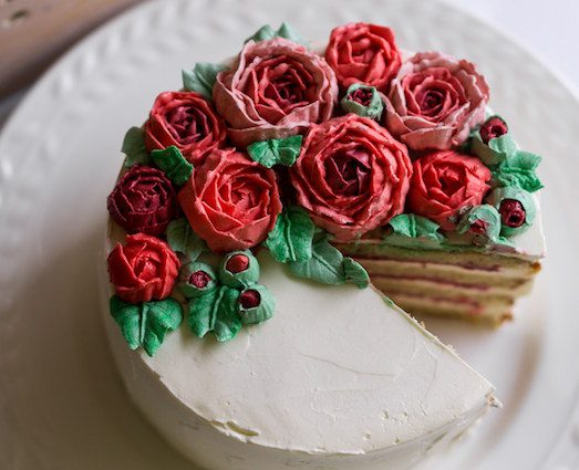 Как сделать кондитерскую розу фото 729