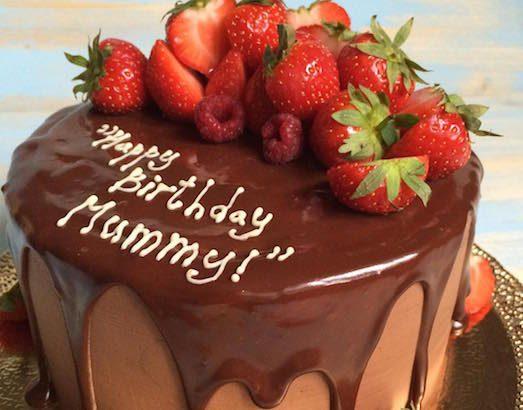 Як зробити красиву напис на торті?