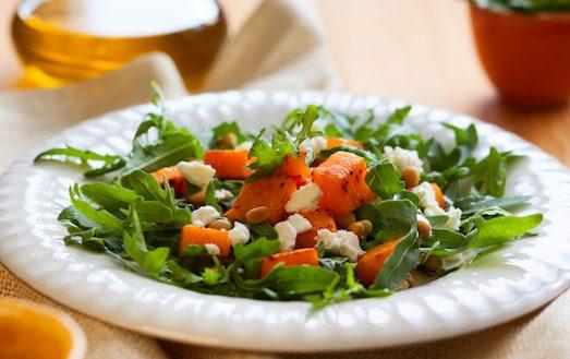 Вкусные и полезные салаты для похудения