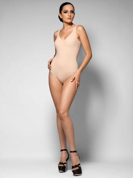 Модные купальники цвета nude