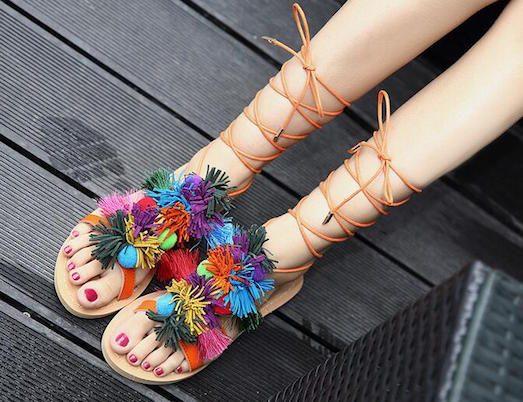 Самые модные виды сандалий этого сезона