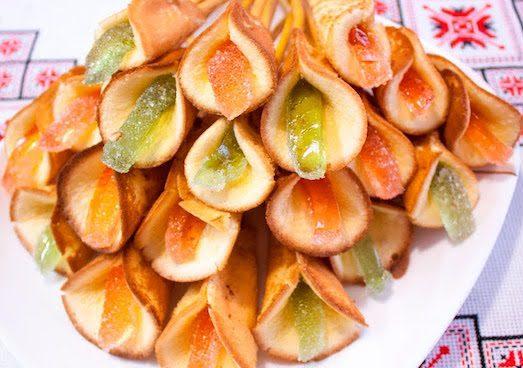 """Рецепты приготовления печенья """"каллы"""""""