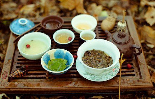 Основные правила хранения чая