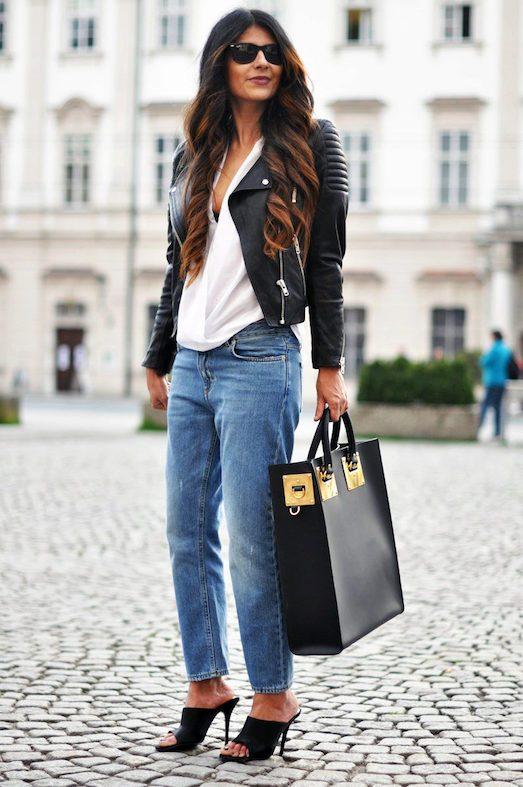 З чим модно носити яскраві мюли?