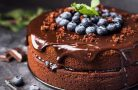 Шоколадный торт — мечта для сладкоежки