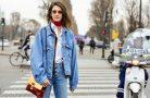 Как модно носить джинсовую куртку?