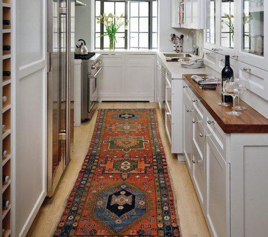 Как выбрать правильный ковер на кухню?