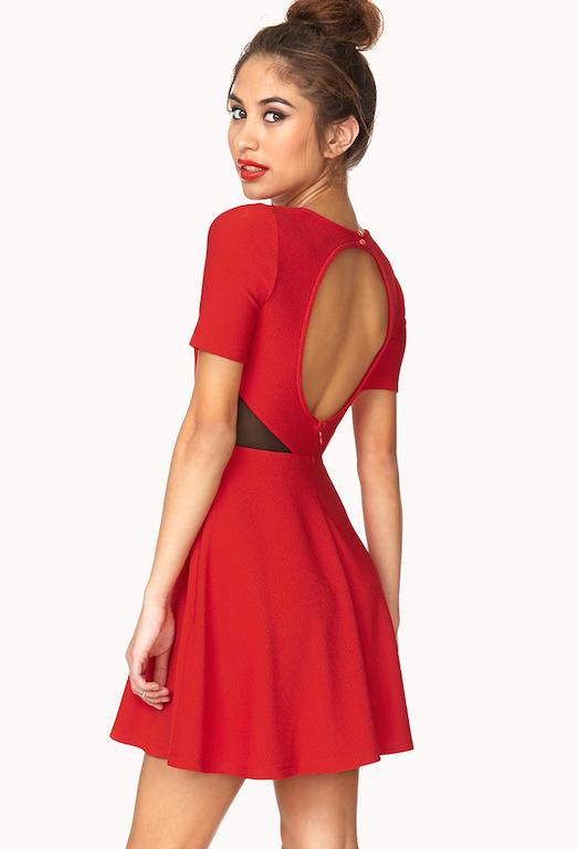 805cdf9273a С чем и как носить модное платье с вырезом