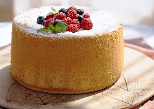 Рецепт шифонового бисквита для торта
