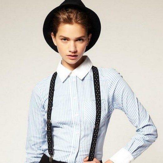 Особенности мужского стиля в одежде женщины dc6e2411a39