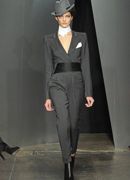 Рассмотрим основные элементы мужского стиля в женском гардеробе  40105d85e50