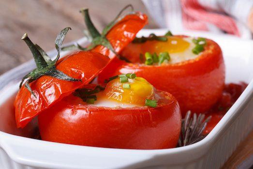 Топ 7 оригинальных рецептов фаршированных помидор