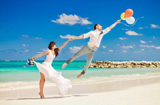 Куда можно поехать в свадебное путешествие зимой?