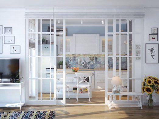 Как можно использовать стекло в интерьере?