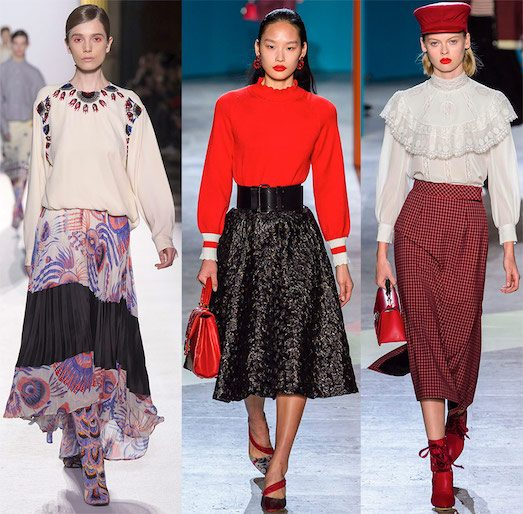 Какие юбки будут модными в 2019 году?