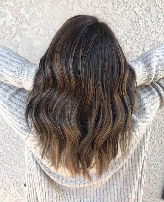 Техника окрашивания волос fallayage — тренд 2019