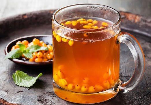 Как приготовить супер полезный чай из облепихи?