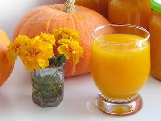 Чем полезен тыквенный сок?