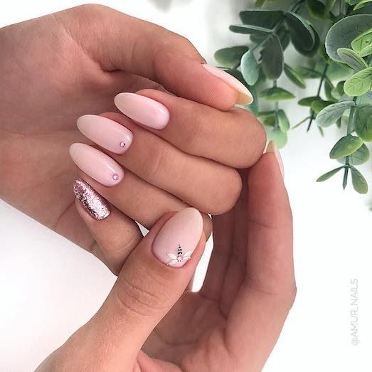 Миндалевидная форма ногтей — как получить?