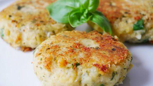 Котлеты из нута — простой рецепт вегетарианского блюда