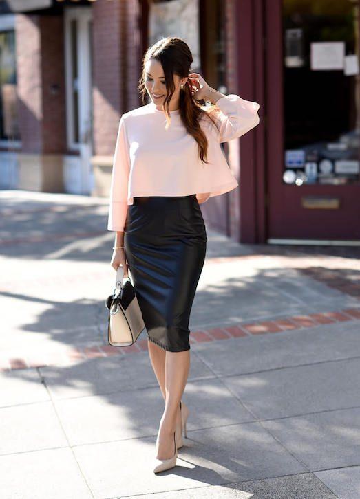 Узкая юбка - как выбрать и носить?