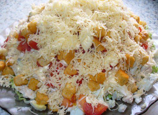 Рецепты приготовления оригинальных салатов с сыром