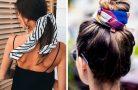 Платок в волосах — как носить тренд этого года?