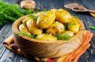Как можно оригинально приготовить молодую картошку?