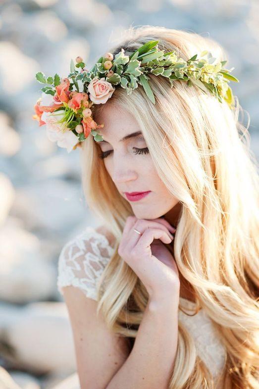 Свадебный венок - отличное украшение для невесты | Мода и красота | Красота