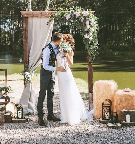 Крутые идеи для свадебной арки | Мода и красота | Красота