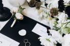 Черно-белая свадьба — модное решение