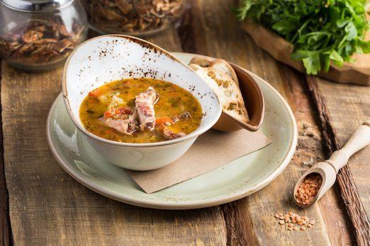Чечевичный суп — вкусное и полезное блюдо