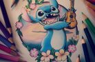 Классные татуировки с героями Диснея