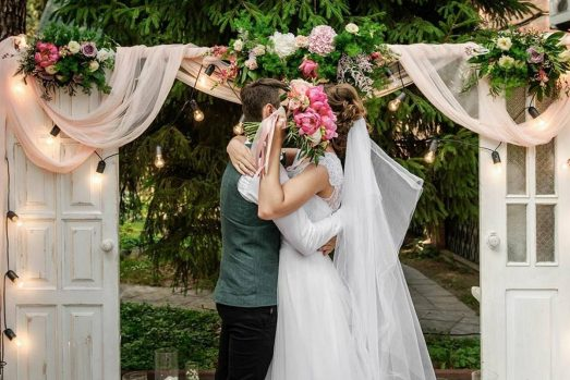 Свадебная арка-двери (декор) | GUP